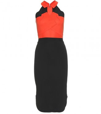 Roland Mouret DALEFIELD TWO-TONE DRESS