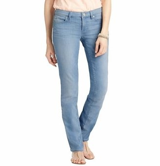 LOFT Curvy Straight Leg Jeans in Dusty Pale Wash