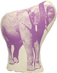 Areaware Pico Elephant Pillow
