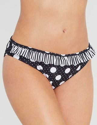 Figleaves Midnight Grace by figleaves.com Pin Up Frill Brief