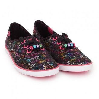 Keds Metallic Star Plimsols