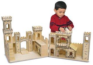 Melissa & Doug Folding Medieval Castle - Ages 3+