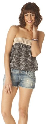 Elan International Crochet Tube Top