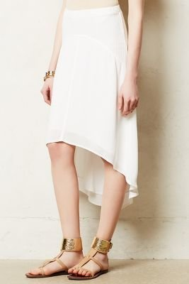 Anthropologie Left of Center Pendulum Midi Skirt