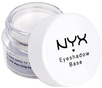 NYX Cosmetics Eye Shadow Base, White, 0.25 Ounce $7 thestylecure.com