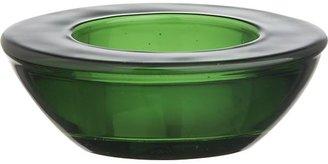 Crate & Barrel Green Candleholder