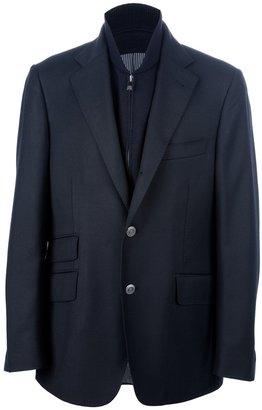 Corneliani button fastening blazer