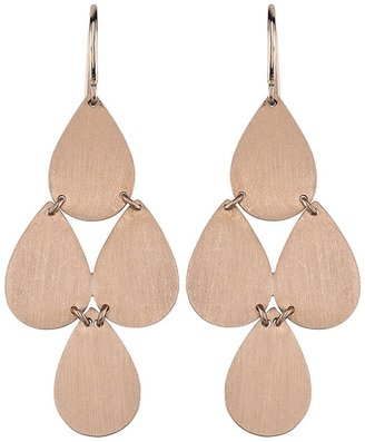 Irene Neuwirth Signature Small Teardrop Chandelier Earrings - Rose Gold
