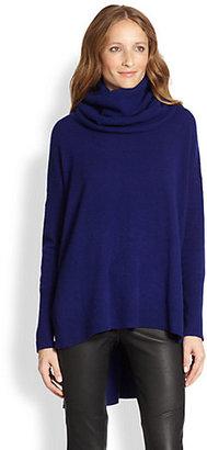 Diane von Furstenberg Ahiga Cashmere Hi-Lo Sweater
