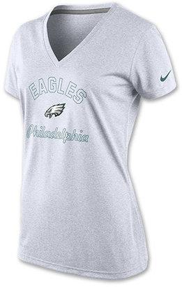 Nike Women's Philadelphia Eagles NFL Football Legend V-Neck T-Shirt