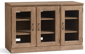 Pottery Barn Printer's Media Cabinet, Tuscan Chestnut
