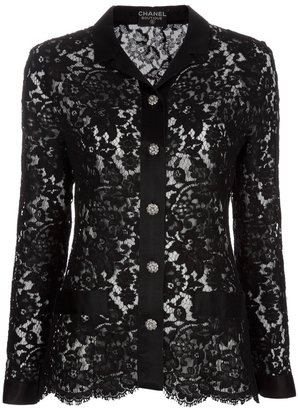 Chanel three piece lace suit