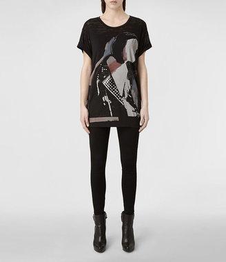 AllSaints Biker T-shirt