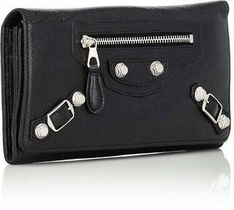 Balenciaga Women's Arena Leather Giant Money Wallet