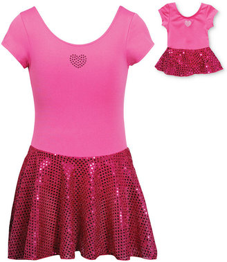 Dollie & Me Kids Set, Girls or Little Girls Dance Tutu Dress and Matching Doll Outfit