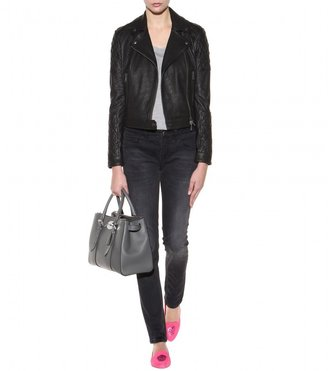 Burberry Grendon leather jacket