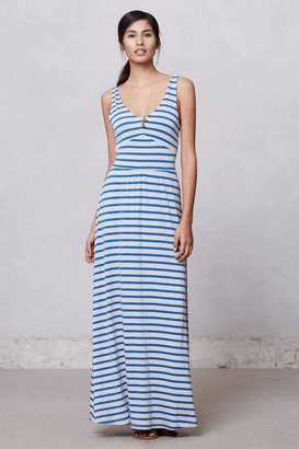 Anthropologie Striped Empire Day Dress
