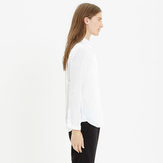Madewell Essential White Boyshirt