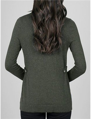 Lilla P @Model.CurrentBrand.Name Cotton-Cashmere Cardigan Sweater (For Women)