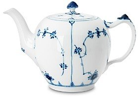 Royal Copenhagen Blue Fluted Plain Teapot