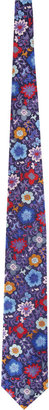 Duchamp Floral-print Neck Tie
