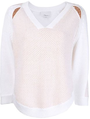 3.1 Phillip Lim cutout pullover sweater