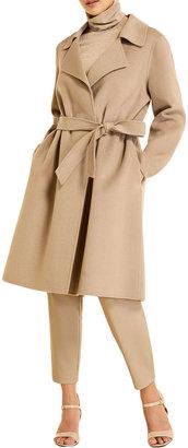 Marina Rinaldi Plus Size Trousse Double-Face Wool-Blend Coat