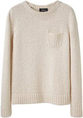 A.P.C. / Crewneck Pocket Sweater