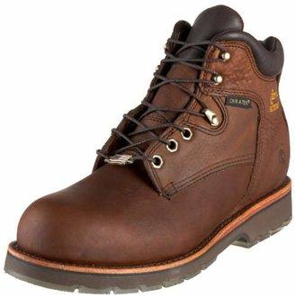 "Chippewa Men's 6"" Waterproof Steel Toe EH 25223 Lace Up Boot"