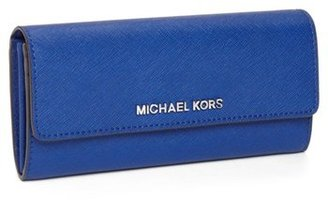 MICHAEL Michael Kors Saffiano Leather Carryall Wallet
