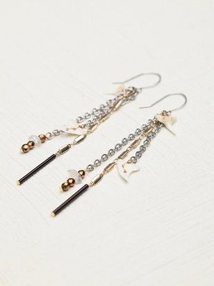 Free People Tooth Fringe Earring