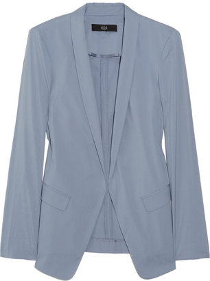Tibi Stretch cotton-blend blazer