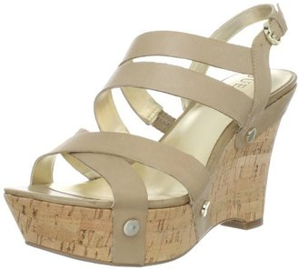 GUESS Women's Wanetta Wedge Sandal