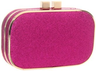 Magid Glitter Rounded Box Clutch