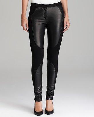 Rebecca Minkoff Pants - Telescope Leather Patch