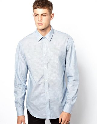 French Connection Shirt Emory Dot