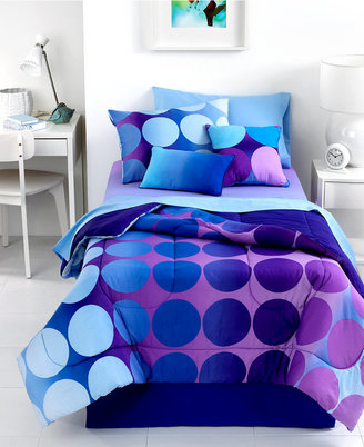 Dot Allure 4 Piece Queen Sheet Set