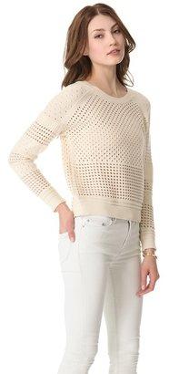 Halston Crew Neck Sweater