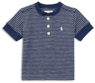 Ralph Lauren Childrenswear Boys' Jersey Henley - Baby