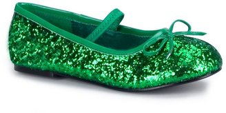Green Sparkle Flat Costume Shoes - Kids $33.99 thestylecure.com
