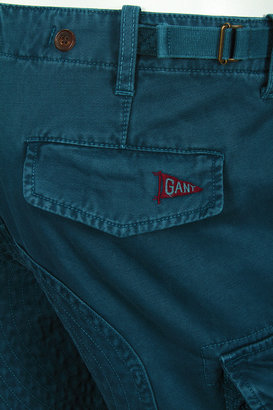 Michael Bastian Skinny Cargo Pant in Blue - by GANT