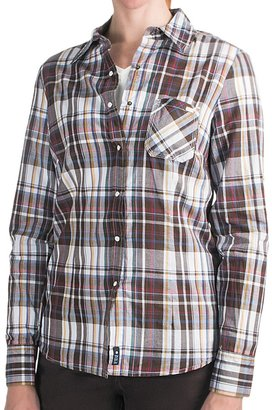 FDJ French Dressing Plaid Shirt - Snap Front, Long Sleeve (For Women)