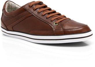 HUGO BOSS 'Apache Adv' | Leather Sneaker by BOSS Green
