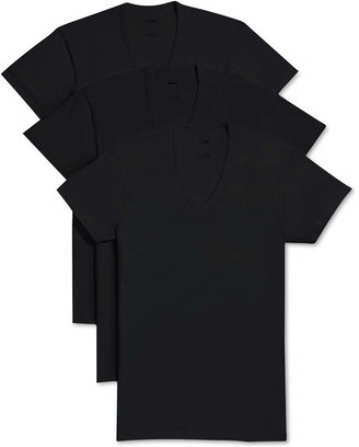 2xist Men Essential 3 Pack Slim Fit T-Shirt
