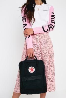Fjallraven Kanken Classic Black Backpack - black at Urban Outfitters
