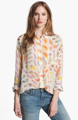 Equipment 'Daddy' Print Silk Top