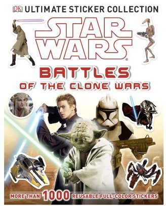 DK Publishing Ultimate Sticker Collection: Star Wars: Battles of the Clone Wars