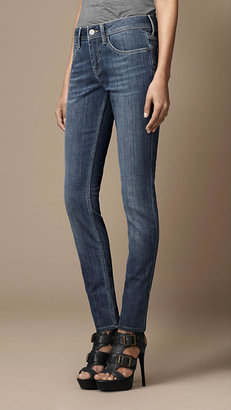 Burberry Kensington Stonewash Slim Fit Jeans