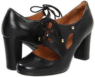 Indigo by Clarks Loyal Heart (Black Leather) - Footwear