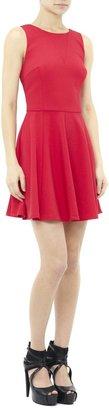 Nicole Miller Brice Satin Crepe Dress
